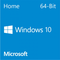 Microsoft Windows 10 Home 64-bit PT DVD OEM (KW9-00130)